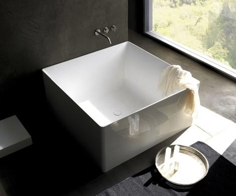 don t be a square unless you re a bathtub hommemaker. Black Bedroom Furniture Sets. Home Design Ideas