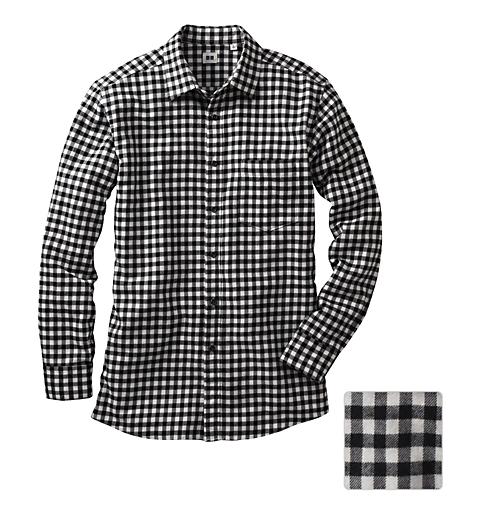 4155e01568066 Flannel Check Long Sleeve Shirt