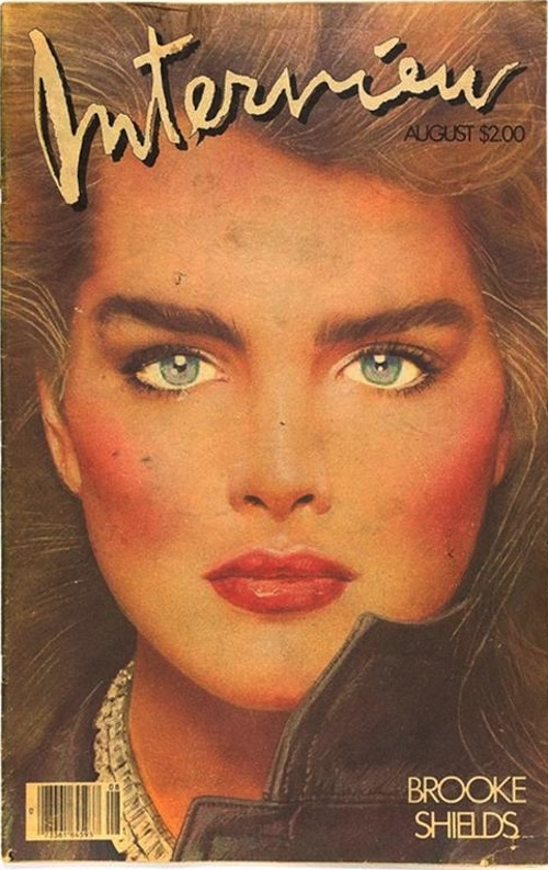23_Andy Warhol_Interview_Brooke Shields