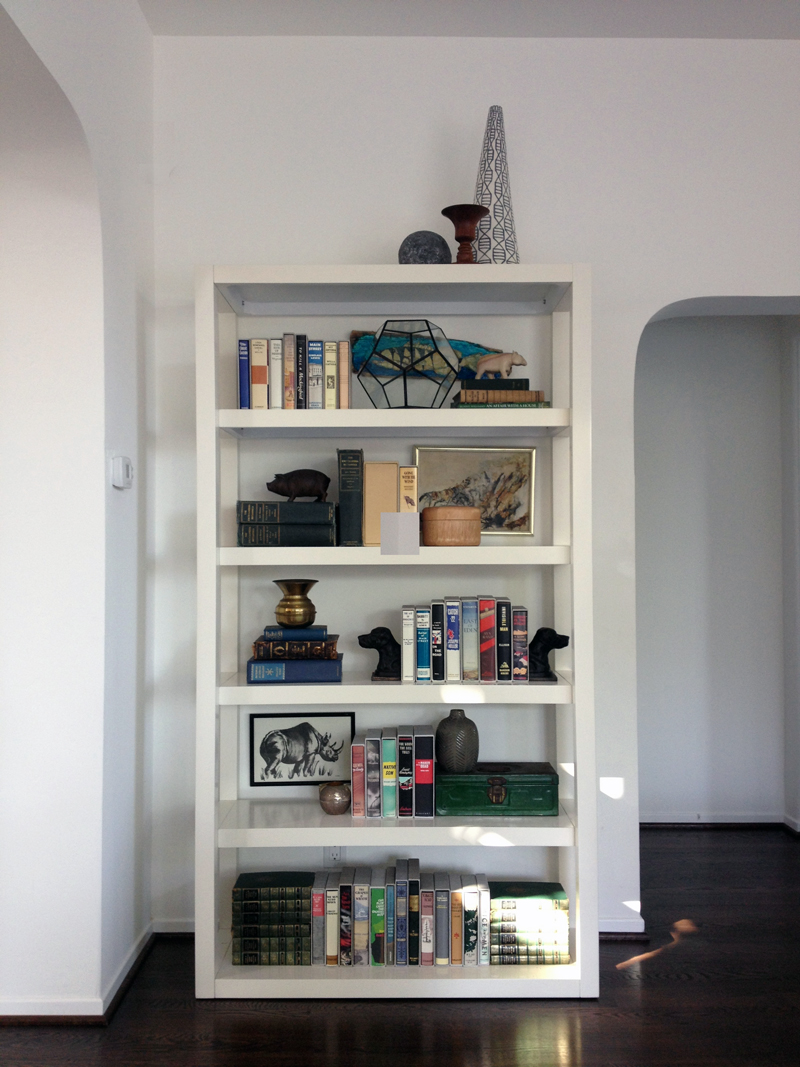 Daly Designs Bookshelf Styling