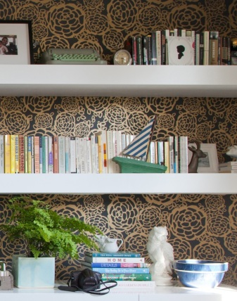 wallpaper-shelves