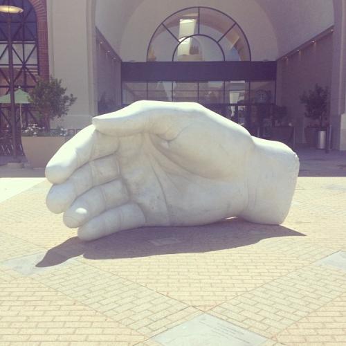 hand-sculpture