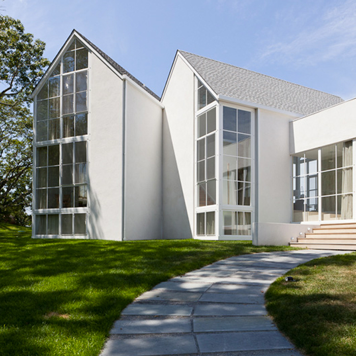 white-modern-house