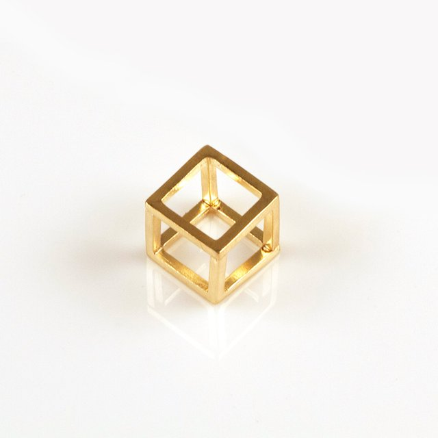 gold-cube